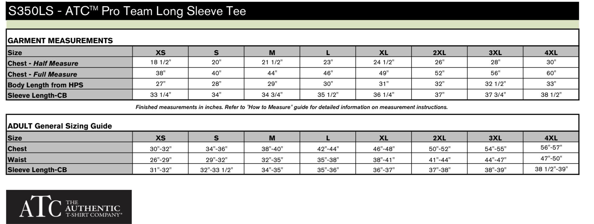 Pro Team Long Sleeve Dri-Fit Tee